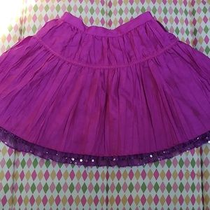 Magenta skirt